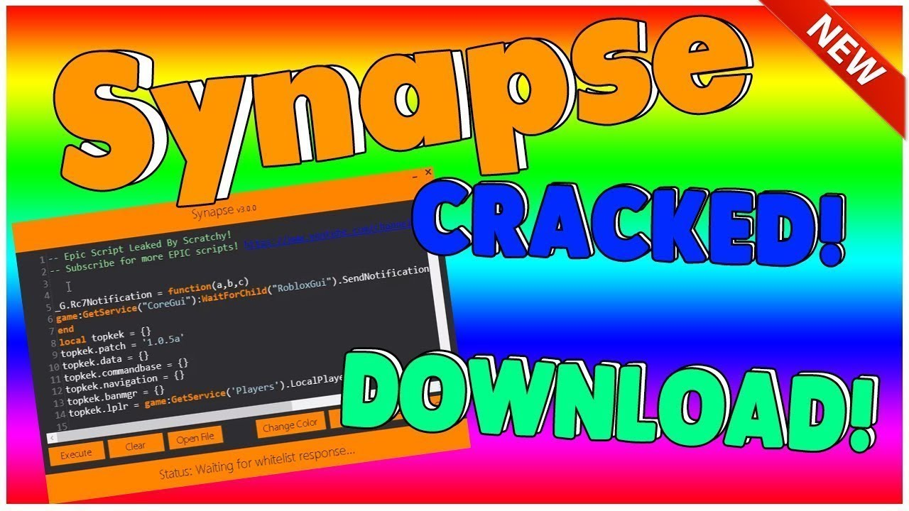 💯 SYNAPSE CRACK 💯 WORKING 2ND APRIL ✅ ROBLOX EXPLOIT ✅ HACK SCRIPT  INJECTOR FULL LUA ✅ Patched