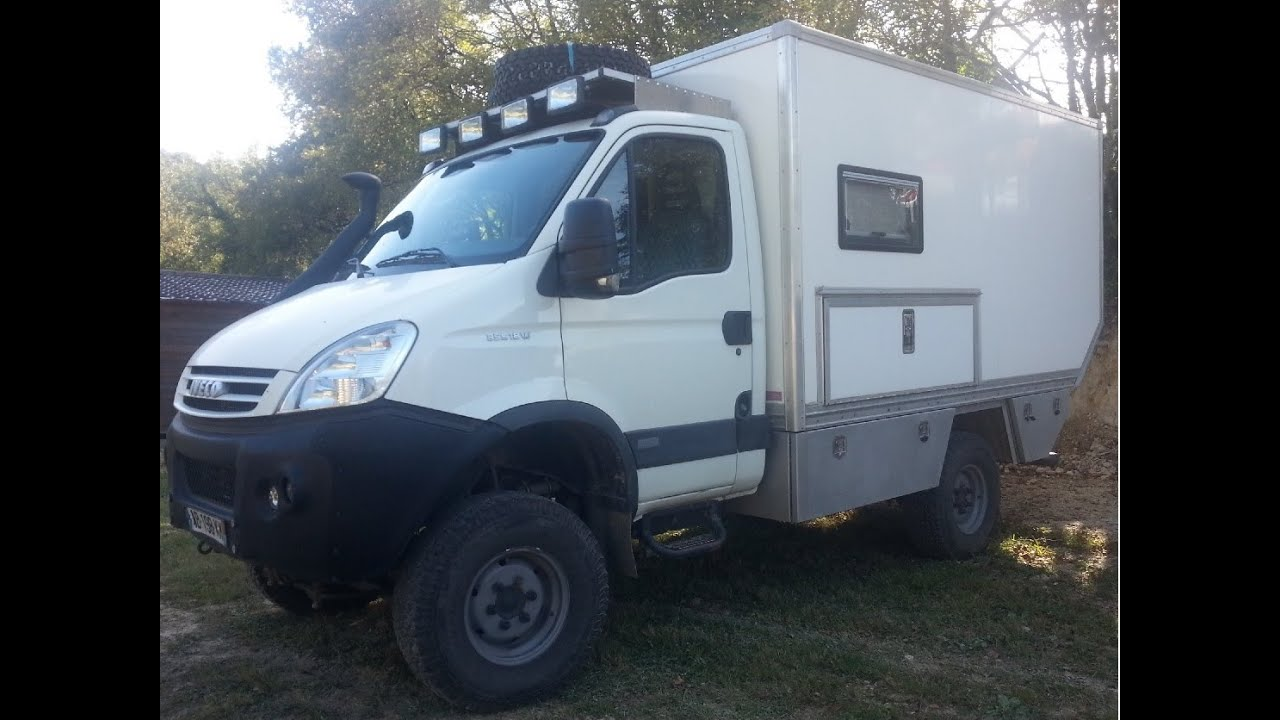 Luxury First Drive Iveco Daily 4x4 55tonne 55S17W Offroad Truck Review