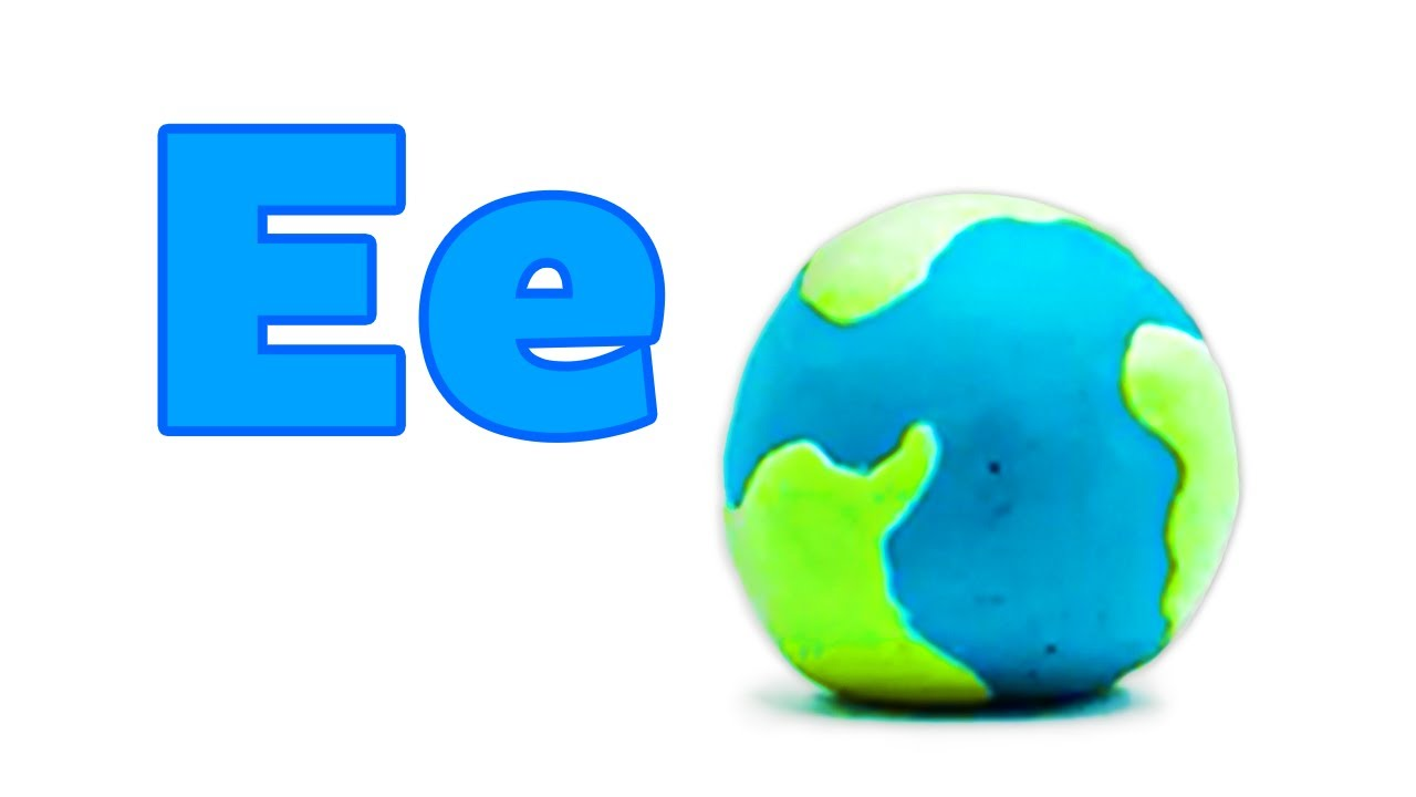 "Phonics - The Letter ""E"" | Learn the Alphabet | Pocket Preschool"