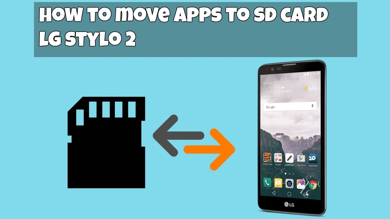 How to move apps from Phone to SD Card LG Stylo 2 (HD)