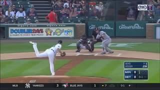 Brian Dozier Bunt Home Run vs. Tigers