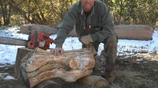 Chainsaw Styled Rustic Log Decor Part 1 By Mitchell Dillman