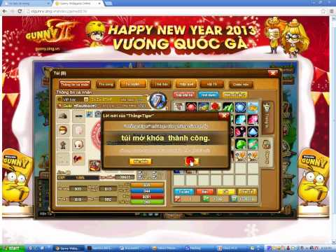 hack gunny 25/1/2013
