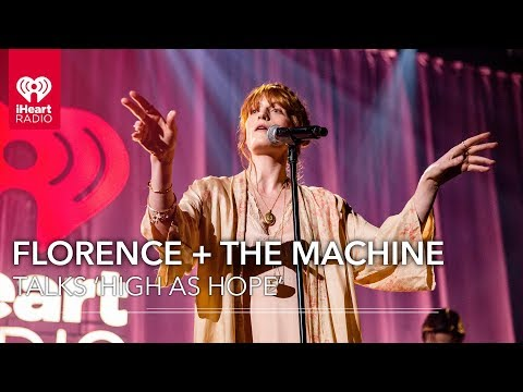 Florence + The Machine Talks Details Behind 'High As Hope' |  IHeartRadio Live!