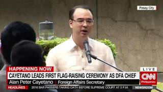 Cayetano: Remove Passport Appointment And Release Passport in Few Days