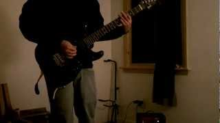Celtic Frost - Dawn of Meggido - (guitar cover) revisited