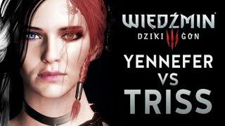 YENEFFER VS TRISS! Sylwester z WIEDŹMINEM Wiedźmin 3 MOD