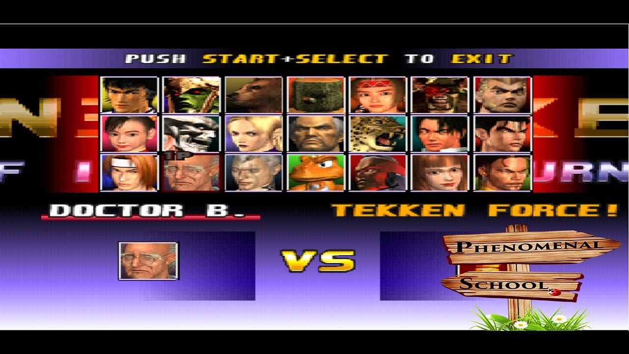How To Unlock All Characters In Tekken Force Pc Youtube