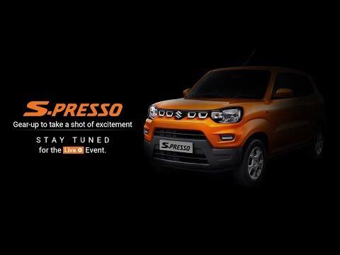 Maruti Suzuki | Mini SUV S-PRESSO | Launch event Live Webcast