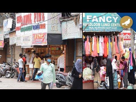 Hyderabad shops open for business