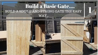 How to build a gate