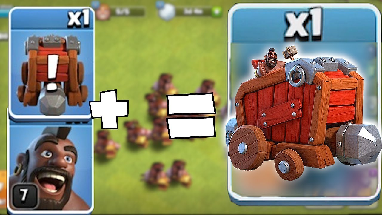 "WHO IS DRIVING THIS THING!?! ""Clash Of Clans"" HOG WRECKER COMBO!!"