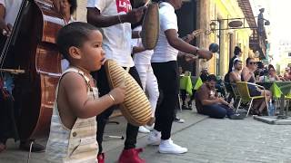 "Little Cuban boy steals the show in Old Havana! ""Dancing in Cuba"""