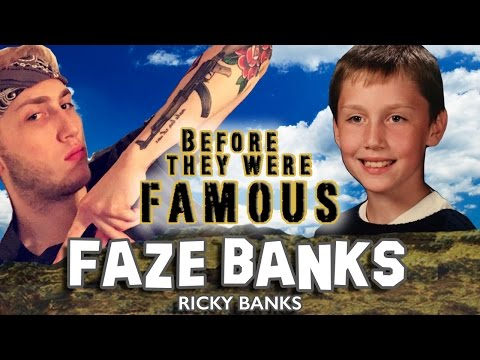 FAZE BANKS - Before They Were Famous - FAZE CLAN