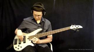 """Time Remembered"" - Bass Guitar Improvisation - January 24, 2015"