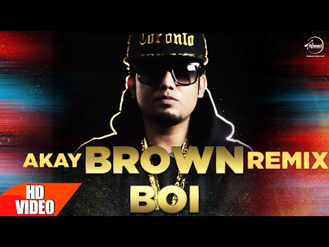 Brown Boi (Remix) | A-Kay | Punjabi Remix Song Collection | Speed Records