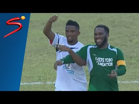 JayJay Okocha Magic moments  Joseph Yobo testimonial match