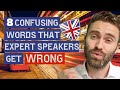 8 Confusing Word Pairs Native Speakers Get WRONG