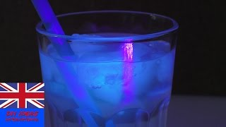 Glow in the dark ice cubes, DIY! | Tonic Water Ice Cubes | Great idea for the summer