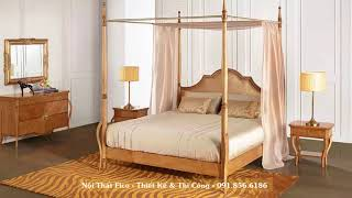 35 STUNNING BEDROOM WITH CANOPY BED | ROMANTIC BEDROOM INTERIOR  - Nội Thất Chung Cư Đẹp