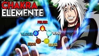 Naruto 'Natur Chakra' Elemente Erklärt!