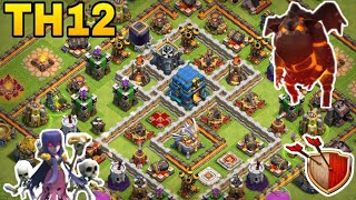 th12 trophy base 2018/coc th12 trophy pushing base 2018/war base /clash of clan