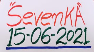 SevenKA Números para hoy Martes 15-06-2021