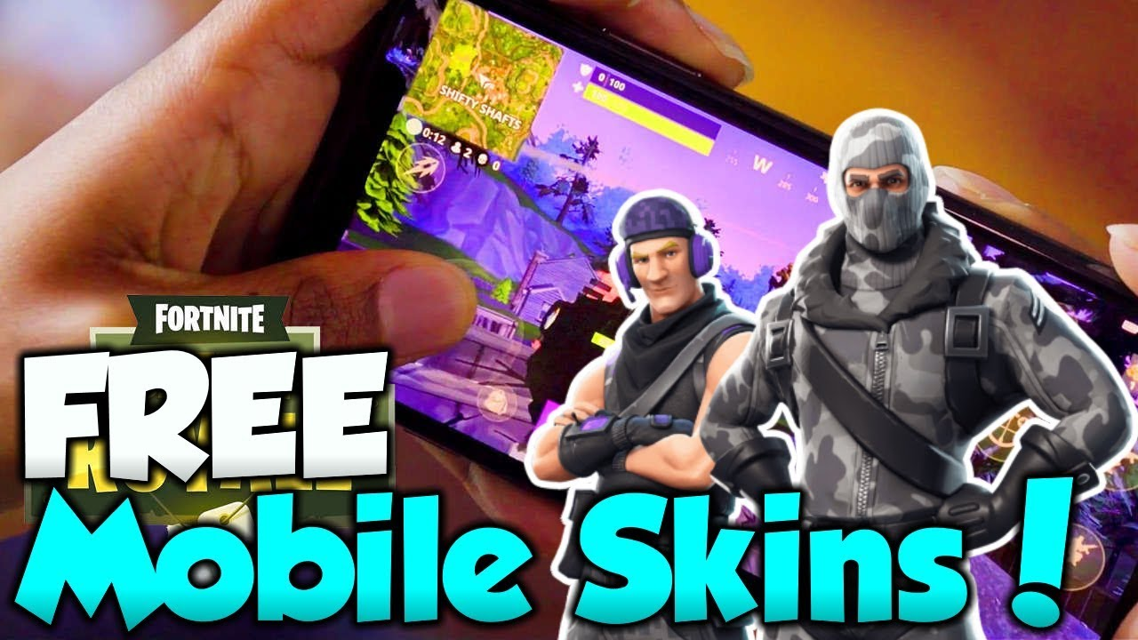 How To Get FREE Fortnite Mobile Skins! Fortnite IOS ...