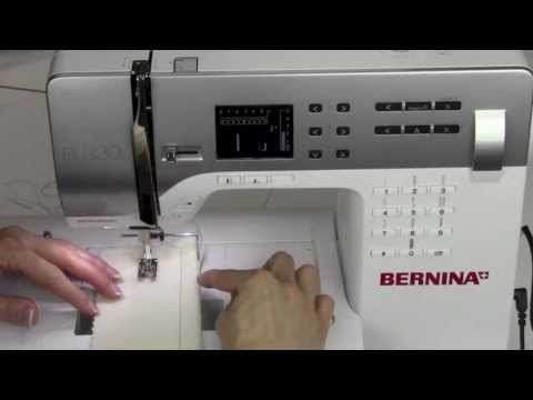 Bernina 330 07  Stitch Plate Markings & Seam Guides