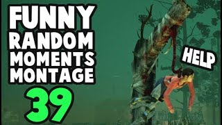 Dead by daylight funny random moments montage 39