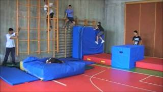 Parkour-School Zingonia 2011