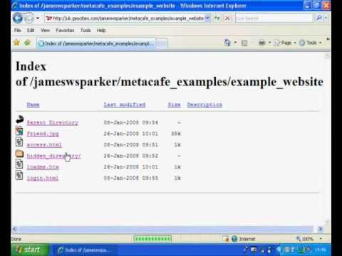 Hack website directories (Find hidden folders) (Raid tutorial)