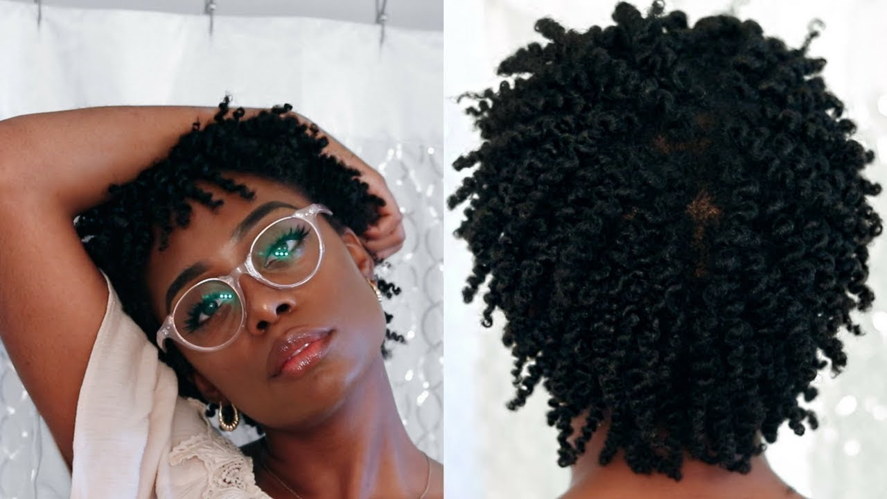 How To Get The Perfect Twist Out with No Gel  4b4c Natural Hair  YouTube