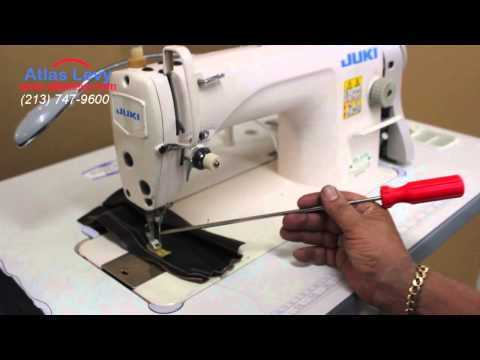 Juki DDl 8700 Single Needle | Sewing regular material and leather | Foci