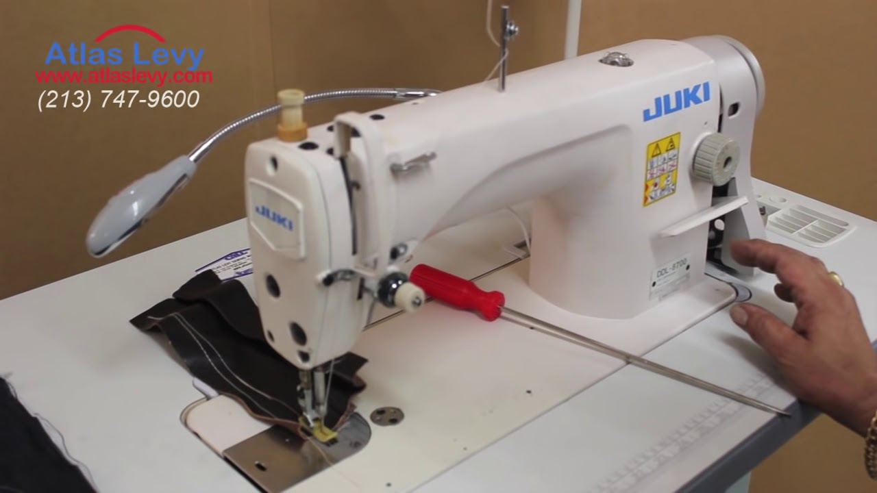 Juki DDl 8700 Single Needle | Sewing regular material and leather