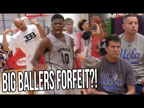 Lavar Ball FORFEITS
