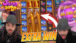 ROSHTEIN Win 36.000€ on Wizard Shop slot - TOP 5 Mega wins of the week