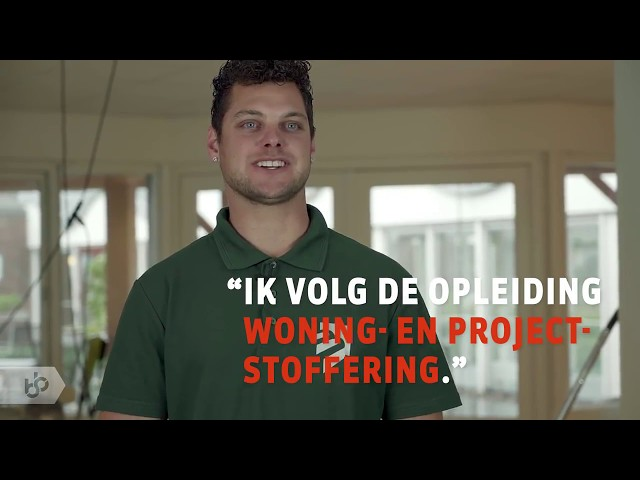 BBL-opleiding Woning/projectstoffeerder