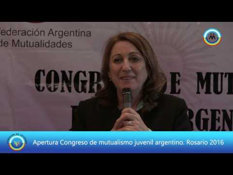 Congreso Mutualismo Jóvenes CAM en Rosario 2016 (Apertura)