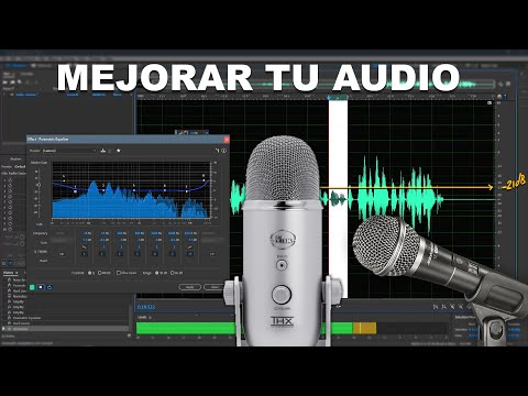Como mejorar la calidad de Audio de cualquier Micrófono