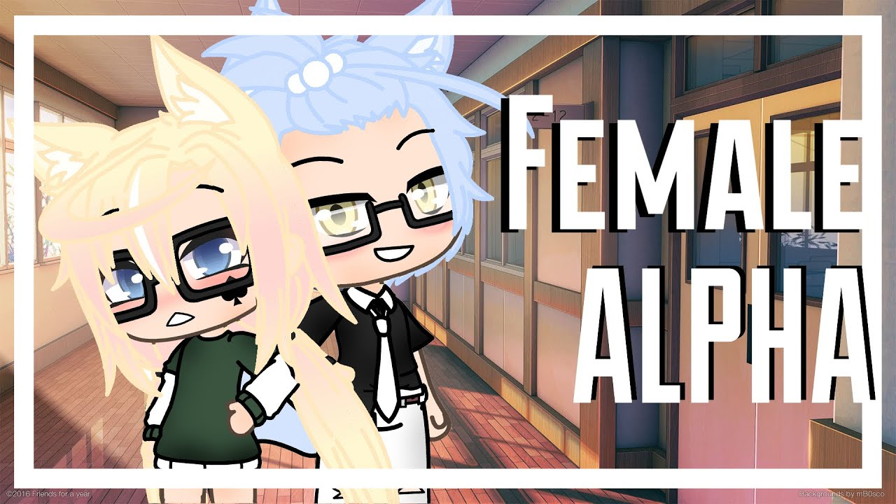 The female alpha || GLMM || Gacha Life Mini Movie ||