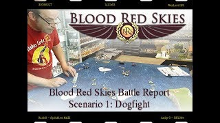 Blood Red Skies Battle Report 1