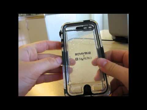 newest e3fb3 fda90 Waterproof iPhone 5 Survivor Catalyst Unboxing/Testing