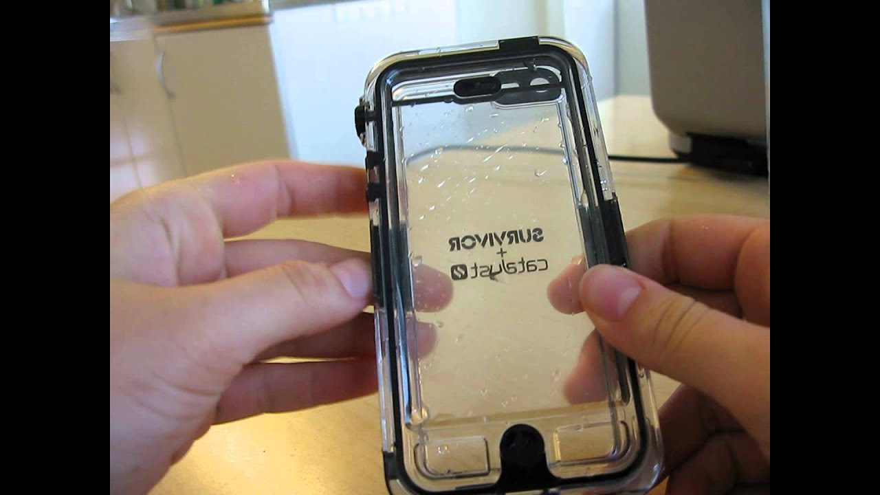 newest 34e06 a2d98 Waterproof iPhone 5 Survivor Catalyst Unboxing/Testing