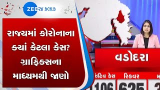 corona case across the state know details through graphics 3 june | ઝી 24 કલાક | Zee 24 Kalak