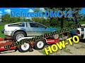 Delorean update Engine/transmission installation
