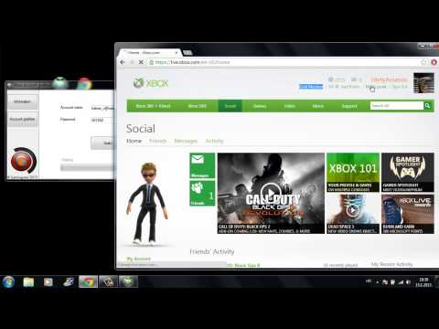 Xbox Live account grabber - get free XBL accounts with gold