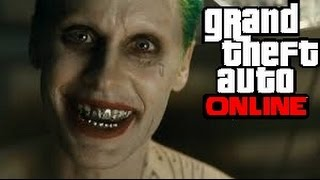 GTA 5 Online Suicide Squad! Joker Outfit Guide and Car Customization!