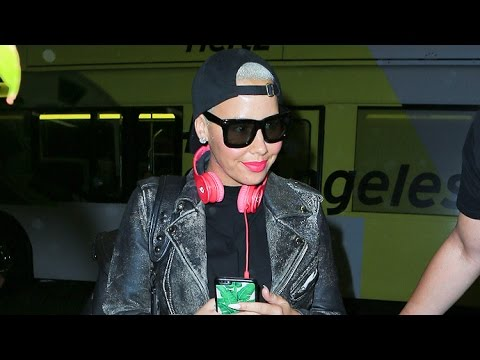Download Amber Rose Takes Redeye To The VMAs