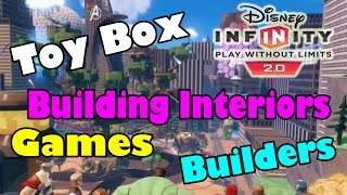Disney Infinity 2.0 Toy Box : Building Interiors, Builders, Toy Box Games, And New Toy Box Games